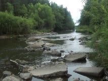 Flüsse von Sibirien Lizenzfreie Stockfotografie