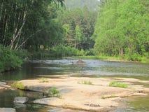 Flüsse von Sibirien lizenzfreie stockfotos