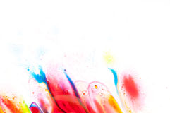 Flüssige Farbe Lizenzfreie Stockfotos