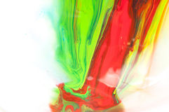 Flüssige Farbe Lizenzfreie Stockfotografie