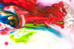 Flüssige Farbe Lizenzfreies Stockbild