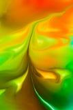 Flüssige Farbe des abstrakten Hintergrundes durch Milch Lizenzfreie Stockfotos
