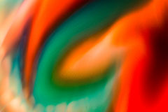 Flüssige Farbe des abstrakten Hintergrundes durch Milch Lizenzfreies Stockbild