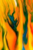 Flüssige Farbe des abstrakten Hintergrundes durch Milch Lizenzfreie Stockbilder