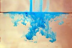 Flüssige Farben Lizenzfreies Stockbild