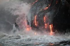Flüssige Lava stockbild
