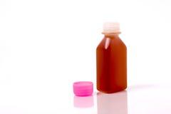 Flüssige Medizinflasche Lizenzfreie Stockfotografie