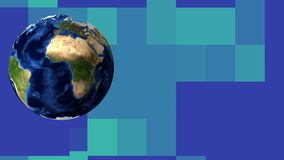 Flüssige Planet Erde stock footage