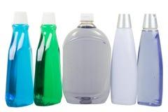 Flüssige Seife und Shampoo Lizenzfreie Stockfotos