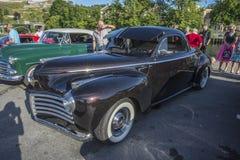 1941 flüssiger Antrieb Chryslers mit 2 Türen Stockbilder