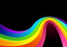 Flüssiger Farben-Hintergrund stock abbildung