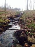 Flüssiger Nebenfluss Stockfoto