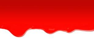 Flüssiger roter Lack stockfotos