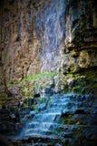 Flüssiger Wasserfall in Ohio stockbild