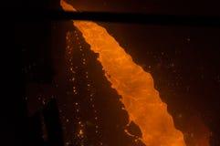 Flüssiges Eisen Stockfotografie