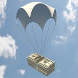 Flüssiges Geld Lizenzfreies Stockfoto
