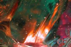 Flüssiges Glas-Auszug 8 lizenzfreies stockbild