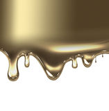 Flüssiges Gold Stockfotos