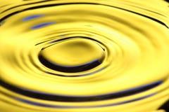 Flüssiges Gold Stockbild