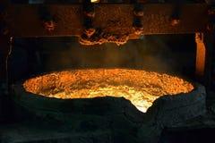 Flüssiges Metall lizenzfreie stockfotografie