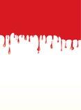 Flüssiges Rot stock abbildung