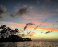 FL fecha o céu Imagem de Stock