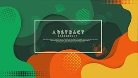 Fl?ssige Abstufungsfarbabstrakter Hintergrund Futuristischer und eleganter Entwurf lizenzfreie abbildung