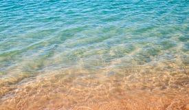 Flach vom Meer Stockfotos