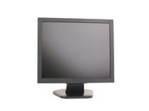 Flachbildschirmcomputerüberwachungsgerät Stockfoto