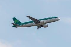 Flache Aer- Lingusfluglinien Stockfoto