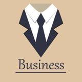 Flache Art des Geschäftsjackenbroschüren-Hintergrundes stilvoll Stockfoto