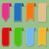 Flache Bänder Lizenzfreie Stockbilder