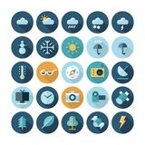 Flache Design-Ikonen für Benutzerschnittstelle Lizenzfreie Stockfotografie