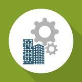 Flache Illustration des Gewinndesigns, editable Vektor Lizenzfreie Stockfotos