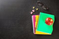 Flache Lagezusammensetzung für Lehrer ` s Tag stockfotografie