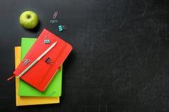Flache Lagezusammensetzung für Lehrer ` s Tag stockbilder