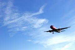 Flache Landung lizenzfreie stockfotografie