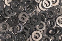 Flache Metallwaschmaschinen Lizenzfreie Stockfotos