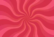 Flache Rose Whirl Stockbild