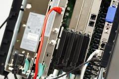 Telefon-Schalttafel - private Nebenstellenanlage Lizenzfreies Stockfoto