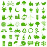 Flache Umwelt-Ikone Lizenzfreies Stockfoto