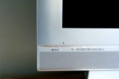 Flacher Bildschirm Fernsehapparat Lizenzfreie Stockbilder