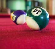 Flacher DOF auf dem weißen Ball Lizenzfreie Stockfotografie