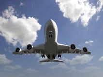 Flacher Flug lizenzfreie stockfotos