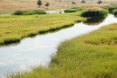 Flacher Fluss Lizenzfreie Stockfotografie