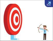 Flacher Karikaturentwurf des Geschäfts-Vektors Gr?ner Hintergrund stock abbildung