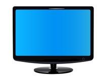 Flacher moderner Fernsehapparat Lizenzfreies Stockbild