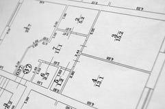 Flacher Plan Stockfotos