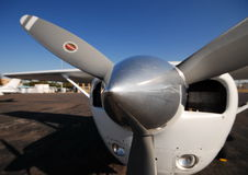 Flacher Propeller stockfoto
