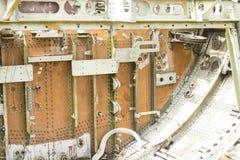 Flacher Rumpfschiffbruch, der aus den Grund sitzt Lizenzfreie Stockbilder
